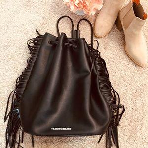 Victoria's Secret Backpack with Side Fringe
